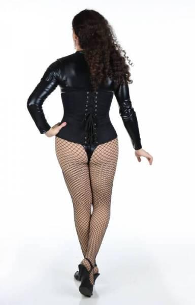 Lynelle Black Bodysuit Back
