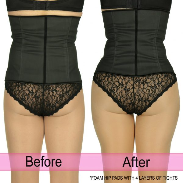 Foam Hip Pad_Before & After with Note