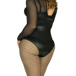 Foam hip pads back_side view fishnet