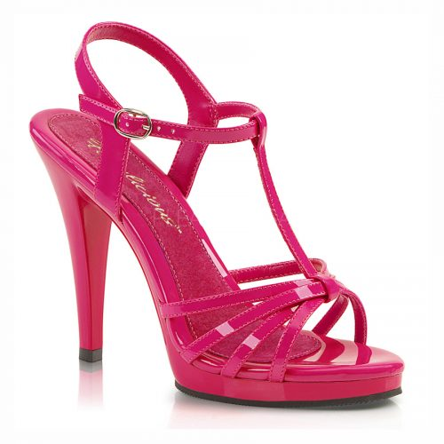crossdresser shoes, pink sandal