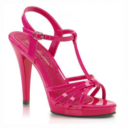crossdresser shoes, pink sandal