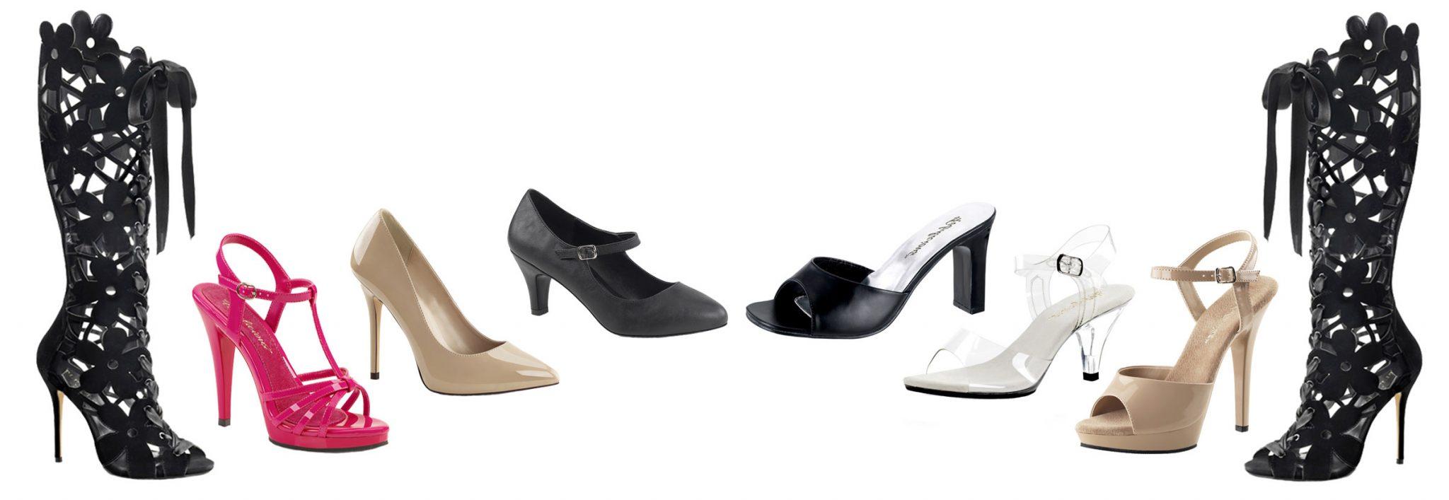 Crossdresser Shoes, Drag Queen Heels, and Heels For Men