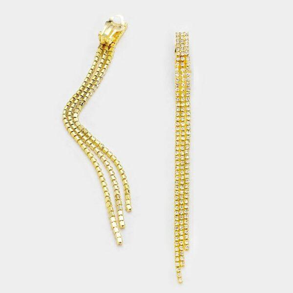 DT6004 Clip On Earrings