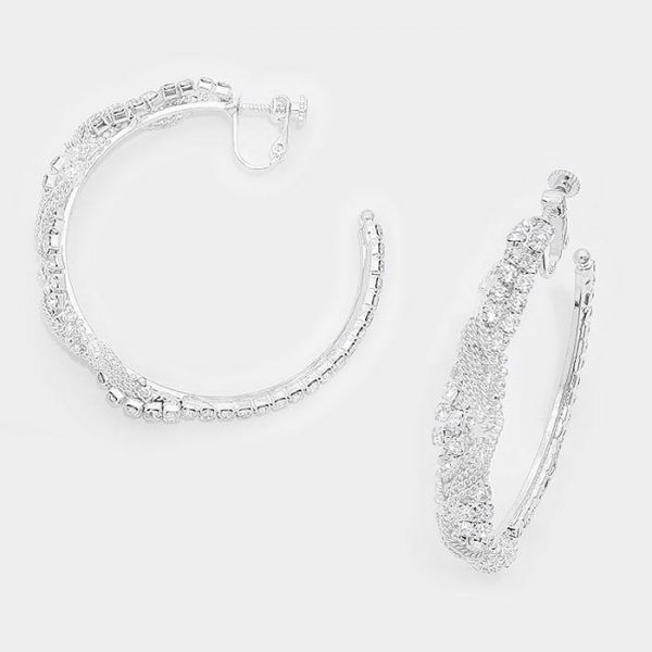 DT6008S Clip On Earrings