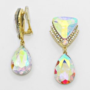 DT6012G Clip On Earrings