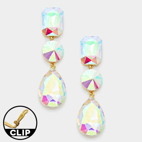 DT6013A Clip On Earrings
