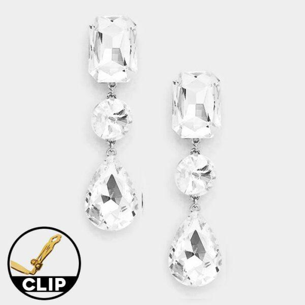 DT6013S Clip On Earrings