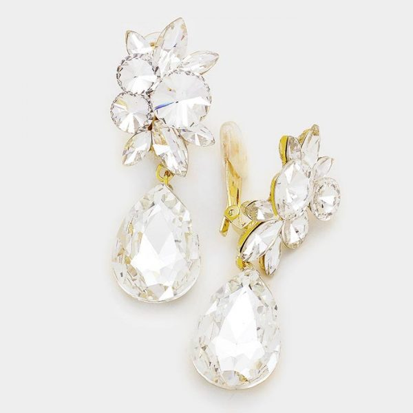DT6018 Clip On Earrings