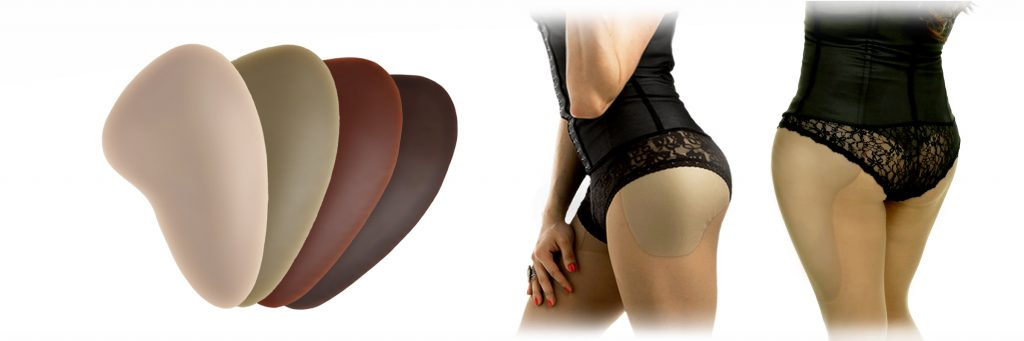 DressTech Silicone Hip Pads For Crossdressers
