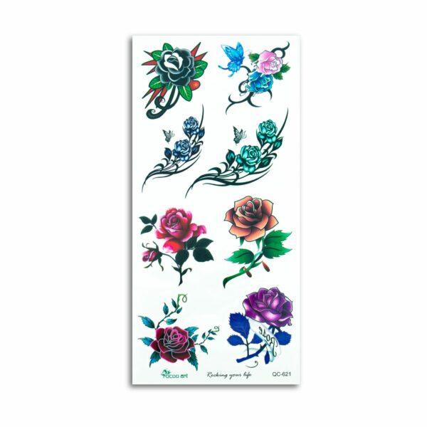 Temporary Tattoo, Flowers 3