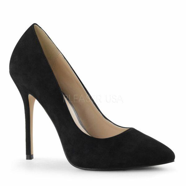 Debbie heels for men black suede