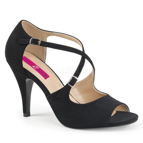 Michelle black heels for men and crossdressers