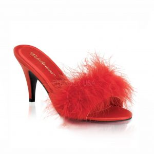 Kate Crossdressing Slipper – red
