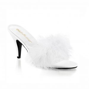Kate Crossdressing Slipper - white