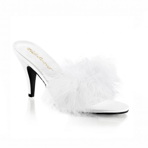 Kate Crossdressing Slipper – white