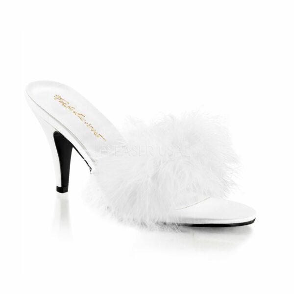 Kate Crossdressing Slipper – white