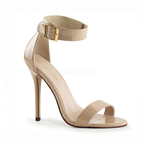 Amber Crossdressing heel – cream