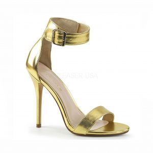 Amber Crossdressing heel – gold
