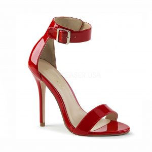 Amber Crossdressing heel - red