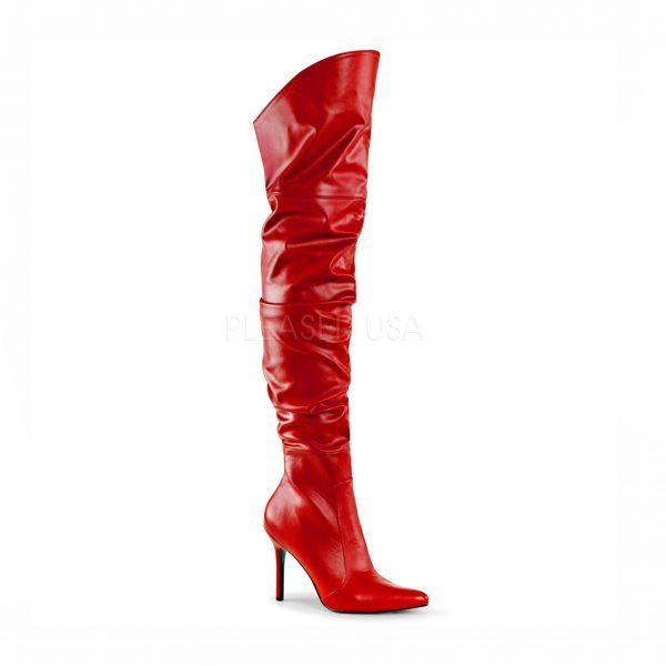 Cathy crossdressing boot – red