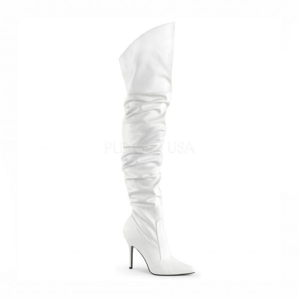 Cathy crossdressing boot – white