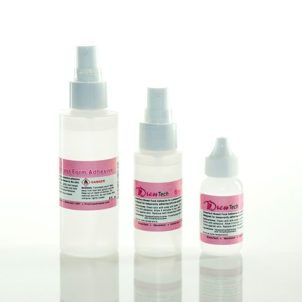 Silicone Breast Form Adhesive and cross dressing supplies