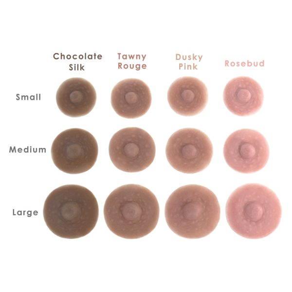 Nipple size/color chart