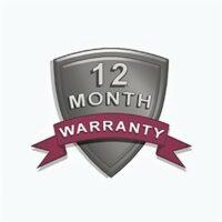 12-Month Warranty