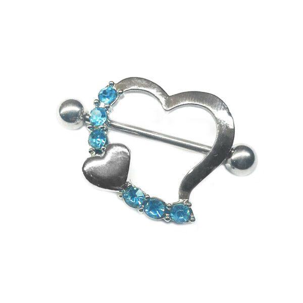ARROW HEART BLUE