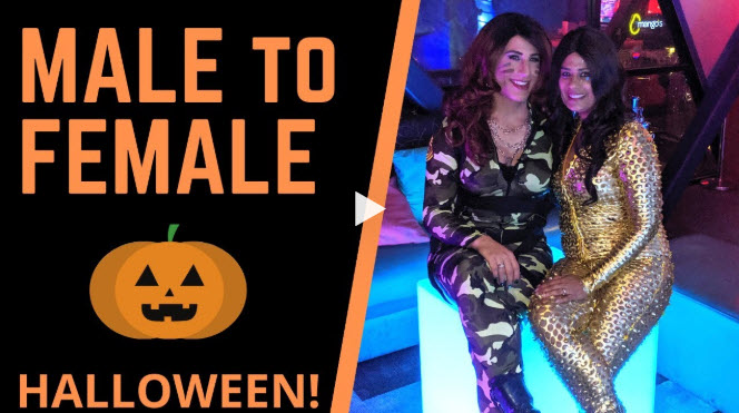 Crossdressing on Halloween