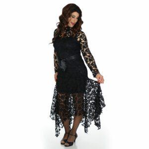 crossdresser black dress