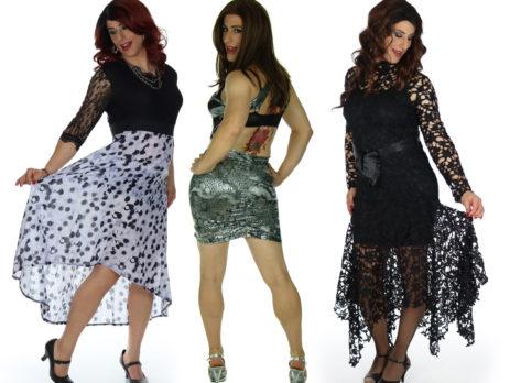 crossdresser dresse and drag queen dresses