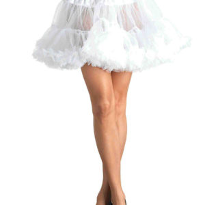White Crossdresser Petticoat