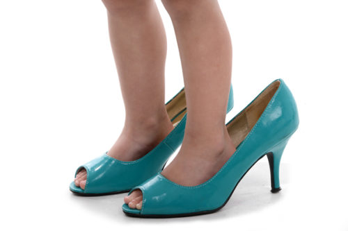 large high heels for men