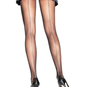 crossdresser black pantyhose