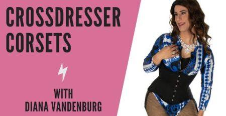 crossdresser corset video