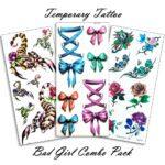 Temporary Tattoo Bad Girl Combo-100